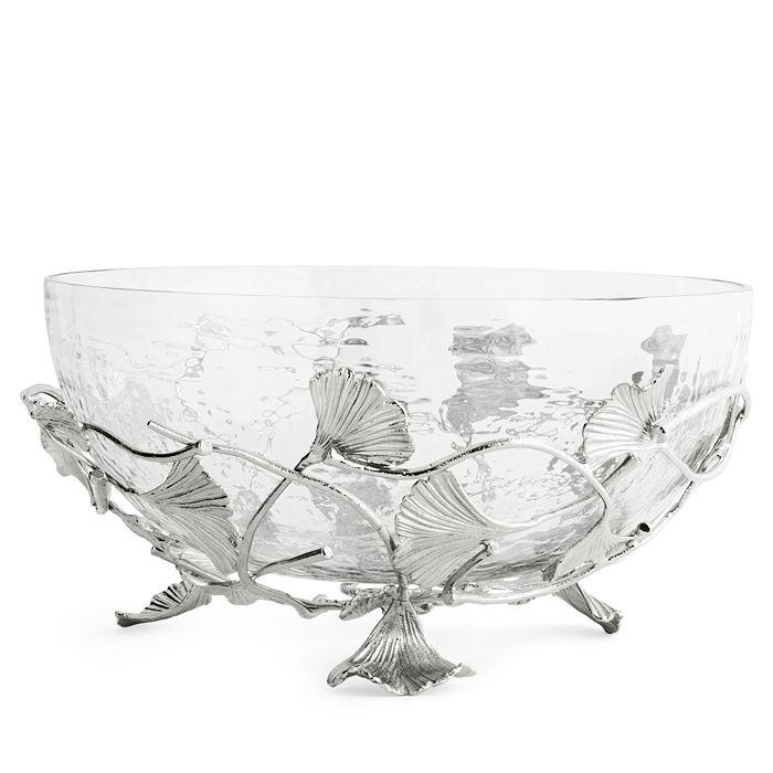 Michael Aram - Ginkgo Medium Glass Bowl - 100% Exclusive