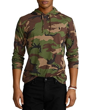 Polo Ralph Lauren CAMO JERSEY HOODED TEE