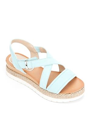 Women's Jules Crossover Espadrille Platform Sandals