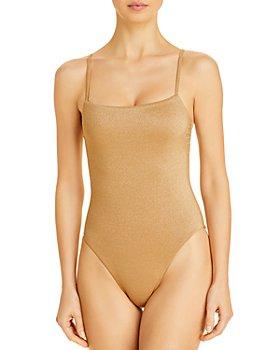 Vitamin A - Jenna Metallic One Piece Swimsuit