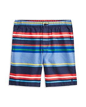 Ralph Lauren - Boys' Prepster Cotton Striped Shorts - Little Kid, Big Kid