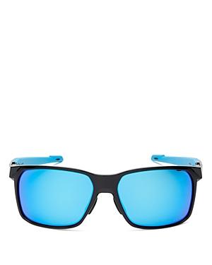 Oakley Men's Polarized Square Sunglasses, 59mm