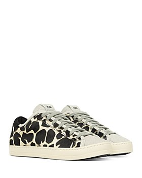 P448 - Women's Johnny Animal Print Low Top Sneakers