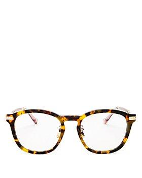 Karen Walker - Unisex Square Blue Light Glasses, 52mm