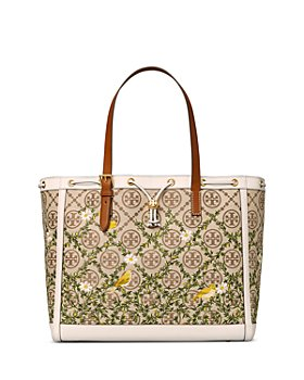 Tory Burch - T Monogram Jacquard Embroidered Tote