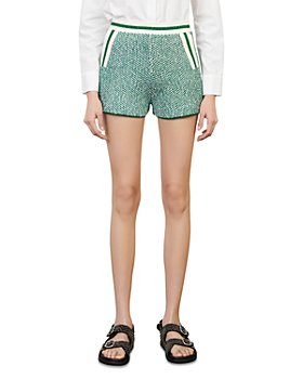 Maje - Idda Tweed Pull On Shorts