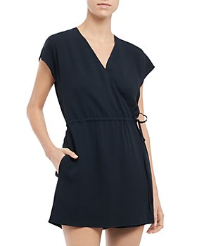 Theory - Rosin Wrap Romper