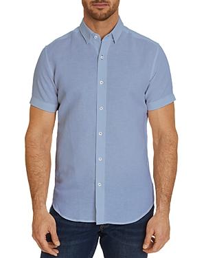 Robert Graham Bradley Solid Slim Fit Button-Down Shirt - 100% Exclusive