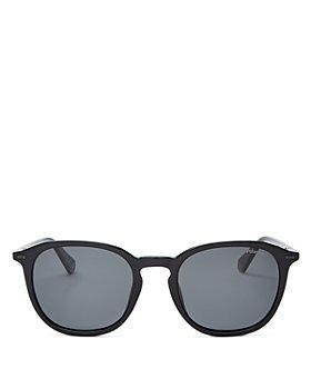Polaroid - Men's Polarized Round Sunglasses, 54mm
