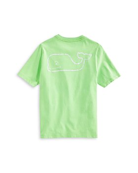 Vineyard Vines - Boys' Neon Whale Pocket Tee - Little Kid, Big Kid