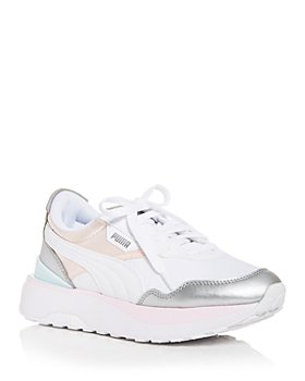 PUMA - Women's Cruise Rider Color Block Platform Low Top Sneakers