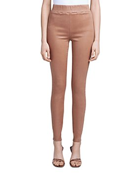 L'AGENCE - Rochelle Pull On Coated Jeggings