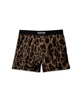 Tom Ford - Leopard Silk Boxers