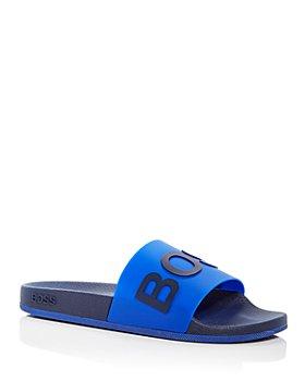 BOSS - Men's Bay Logo Slide Sandals