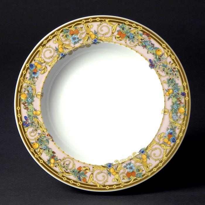Versace - Butterfly Garden Rim Soup Bowl