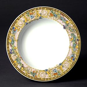 Rosenthal Meets Versace Butterfly Garden Rim Soup Bowl