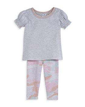 Splendid - Girls' Tee & Camo Print Leggings Set - Baby