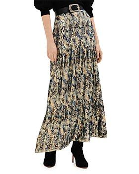 ba&sh - Galina Tiered Maxi Skirt