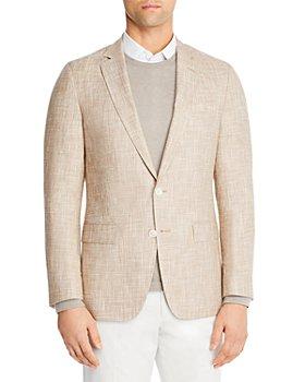 BOSS - Hartlay Linen Blend Slim Fit Sport Coat