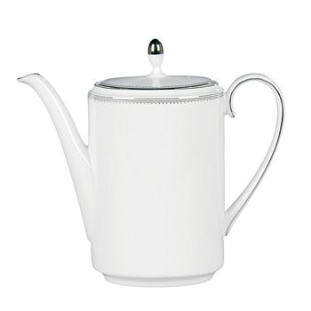 "Vera Wang - for Wedgwood ""Grosgrain"" Coffee Pot"