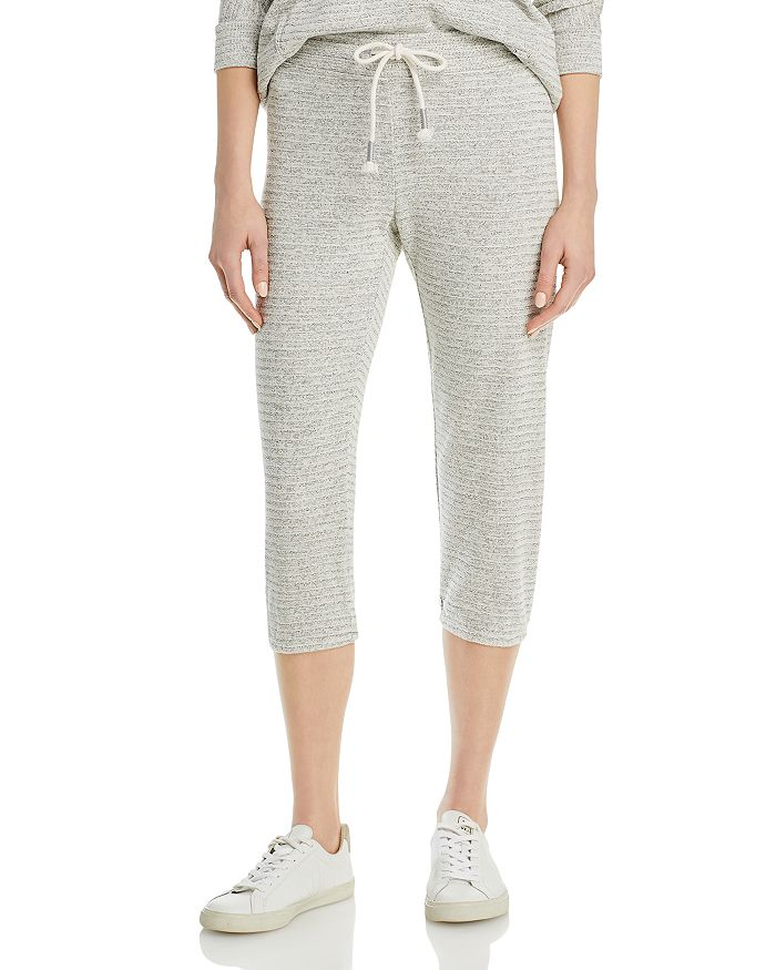 Marc New York CROPPED RIBBED PULL ON PANTS