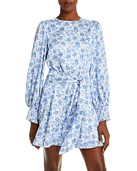 Alice and Olivia - Molli Printed Belted Dress