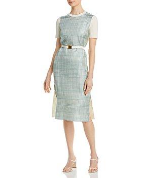 Tory Burch - Greer Belted Sheath Dress