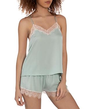 Solid Sienna Satin Pajama Set