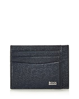 BOSS Hugo Boss - Signature Leather Card Case