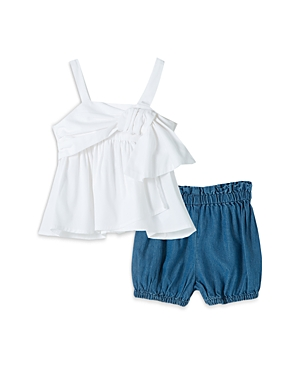 Habitual Cottons GIRLS' TANK TOP & SHORTS SET - BABY