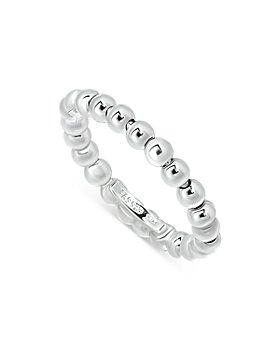 AQUA - Sterling Silver Beaded Ring - 100% Exclusive