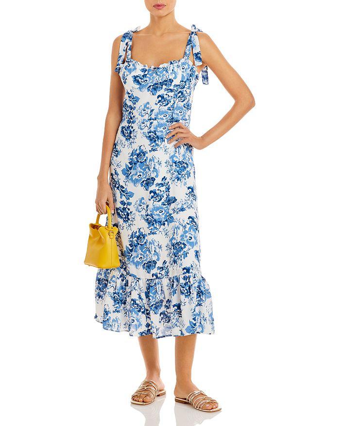 AQUA - Toile De Jouy Sleeveless Dress - 100% Exclusive