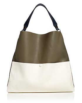 Callista - Iconic Slim Color Block Leather Tote