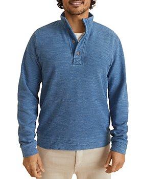 Marine Layer - Clayton Cotton Button Sweatshirt