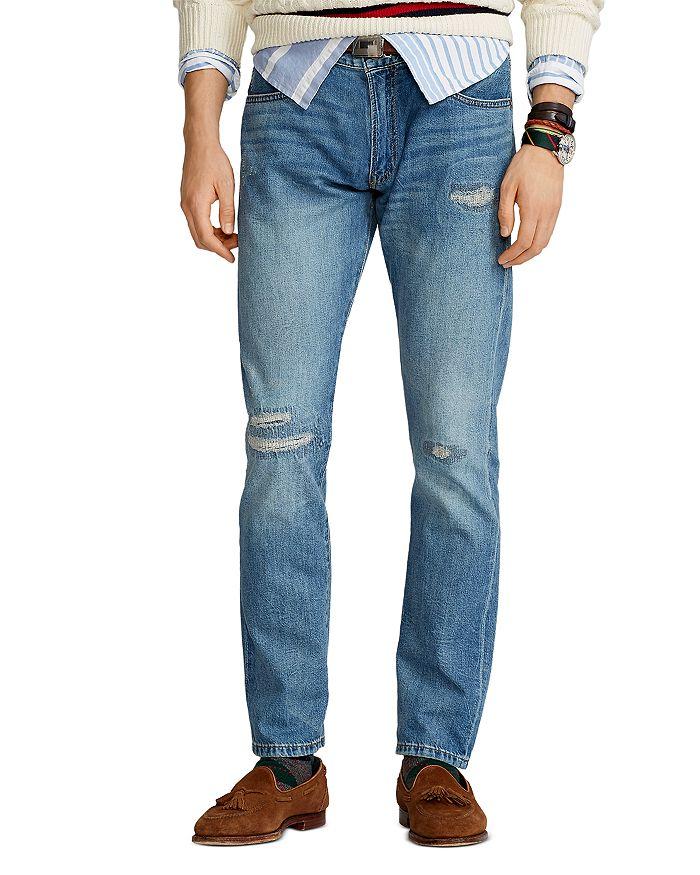 Polo Ralph Lauren Straight jeans SULLIVAN SLIM FIT JEANS IN BLUE