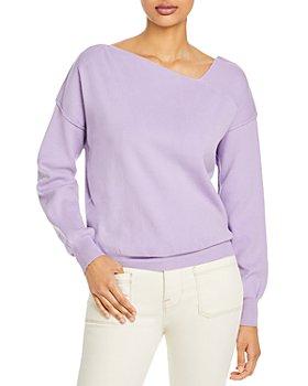 Line & Dot - Favorite Geometric Neck Sweater