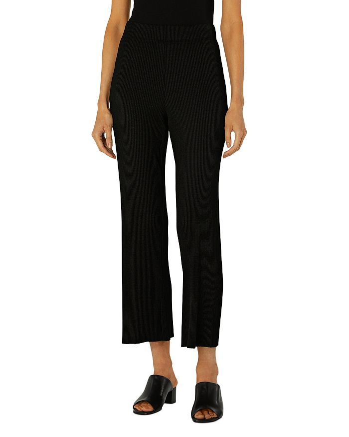 Enza Costa RIBBED CROPPED PANTS