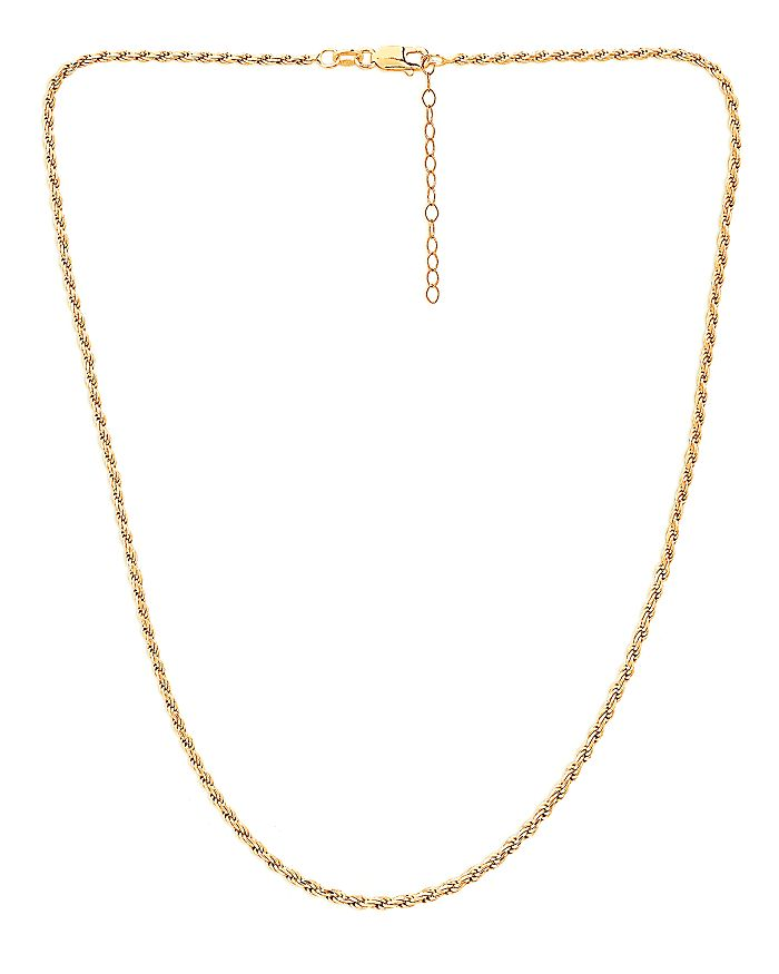 Aqua Necklaces ROPE CHAIN NECKLACE, 16 - 100% EXCLUSIVE
