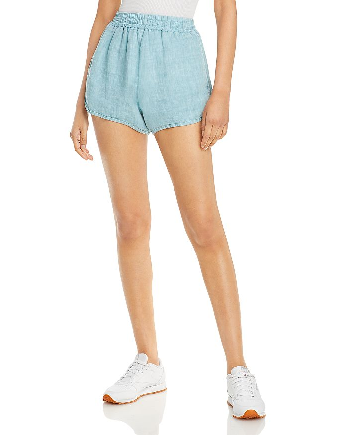 Blanknyc Linens COTTON PULL-ON SHORTS