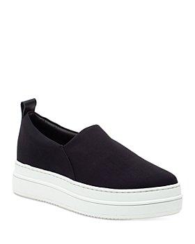 J/Slides - Women's Nipsy Stretch Slip On Platform Sneakers