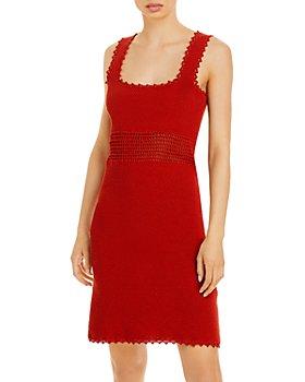 Rebecca Taylor - Square Neck Mini Dress