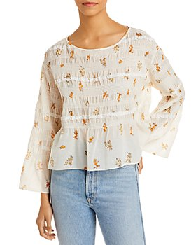 Rebecca Taylor - Ines Smocked Top