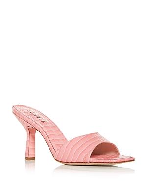 Schutz Women's Posseni High Heel Slide Sandals
