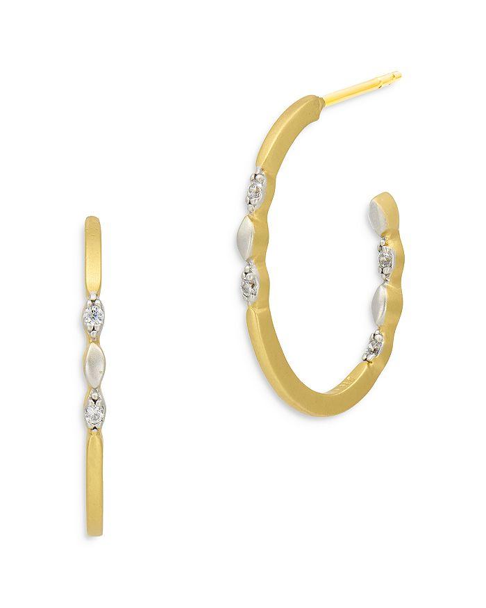 Freida Rothman Earrings AMOR OF HOPE HOOP EARRINGS
