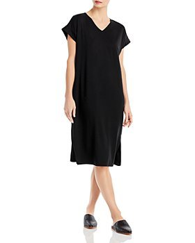 Eileen Fisher - V Neck Shift Dress