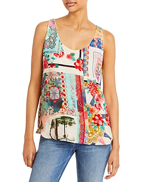 Johnny Was ORLA PRINTED TANK TOP