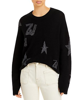 Zadig & Voltaire - Markus Metallic Logo Sweater