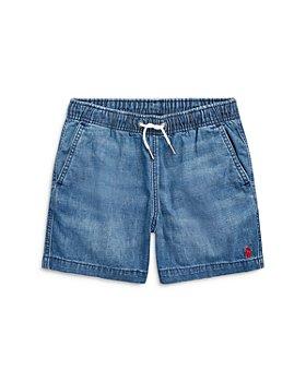 Ralph Lauren - Boys' Prepster Denim Shorts - Little Kid, Big Kid