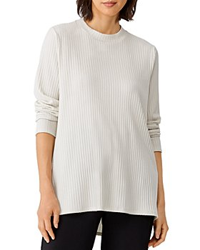Eileen Fisher - Ribbed Tunic Top