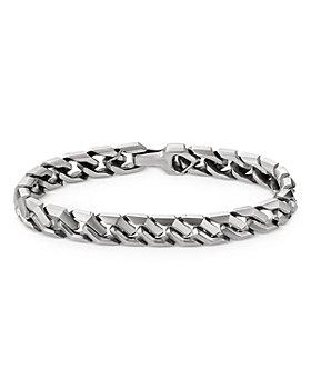 David Yurman - Sterling Silver Curb Chain Link Bracelet